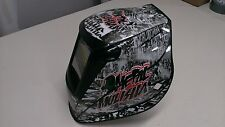 MILLER TITANIUM 9400 7300 1600 WELDING HELMET WRAP DECAL STICKER  jig welder 16