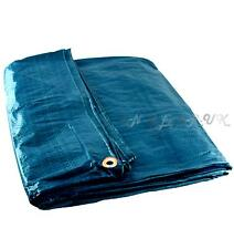 Large tarpaulin groundsheet boat cover 4' x 6' tarp waterproof cover winter