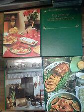 Lot de 4 livres Gastronomie du monde entier La bonne cuisine française 100 menus