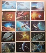 32 Post card Star Way Cosmic Space Satellite Rocket Planet Station Man Cosmos PC
