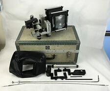 VINTAGE Sinar 4x5 Large Format Camera(Body Only) + Extras & Original Case