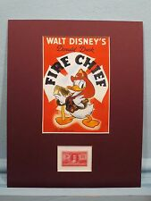 Donald Duck Salutes  Volunteer Firemen of America & the Volunteer Firemen stamp