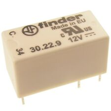 Finder 30.22.9.012 Dual-In-Line Relais 12V DC 2xUM 2A 125V AC Relay Print 776268