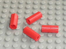LEGO TECHNIC Red Axle Joiner ref 6538c /Set 10189 8070 10213 8265 8258 8043 8053