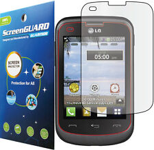 Clear LCD Screen Protector Film Tracfone StraightTalk Net10 LG 305C 306G LG306G
