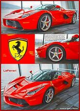 "Ferrari Super Car ""LaFerrari"" Limited Edition Photograph-Signed/Numbered"