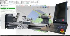 2 Achsen CNC Steuerung komplett  6 Ampere für Wabeco CC-D6000 CNC Drehmaschine