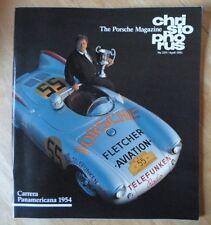 Revista Original Fábrica emitido Porsche Christophorus Folleto-Edición 229 1991