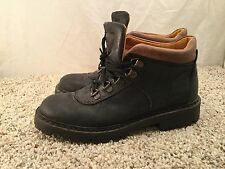 Women's Timberland Black Leather Work Tough Ankle Style Boots sz 7M