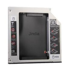 SATA to SATA 12.7mm Second 2nd HDD Caddy Optical Bay DELL INSPIRON 1525