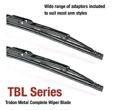 Peugeot 406 01/95-09/04 24/22in - Tridon Frame Wiper Blades (Pair)