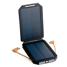 Best Ultra High Capacity Backup Battery Solar Charger Power Bank Dual Panel USB