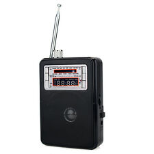 Portable FM/AM/SW Radio 11-Band Receiver MP3 Music Player Loudspeaker 5W LED as