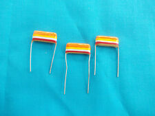 3 x 0.33uf Mullard C280 Metallised Polyester ( Tropical Fish) Capacitors