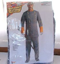 Forum Confederate Officer Adult Costume Men's Large