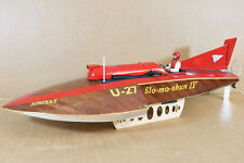 RADIO CONTROLLED HYDROPLANE SAYRES SLO MO SHUN IV WORLD RECORD SPEED BOAT ni