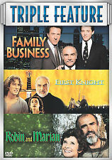 FAMILY BUSINESS / 1ST KNIGHT / ROBIN & MARIAN 3 DVD'S Sean Connery
