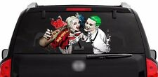 Harley Quinn Joker rear window graphics Decal 40''x22'' Truck SUV print