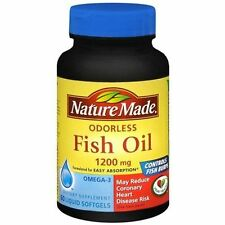Nature Made Fish Oil - Burp-Less 1,200 mg 60 S gels 101A