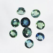 3 cts blue sapphire faceted round cut sri lanka