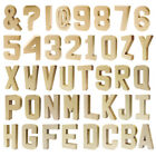 Large 8 inch Paper Papier Mache Letters Numbers Multi Packs Decopatch