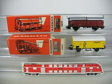 AP200-0,5# 2x Märklin H0/AC Wagen: 4619 Schiebedachwagen+4509 Bananenwagen, OVP