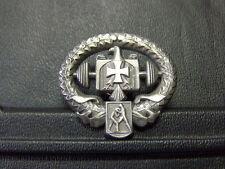 Pin Kraftsport Eisernes Kreuz Adler Abzeichen - 3 x 3,5 cm