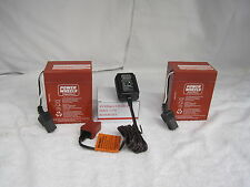 Power Wheels 00801-0712 Two (2x) 6V RED Batteries AND One Charger Combination