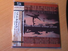 "SOFT MACHINE ""Floating World Live""  Japan mini LP SHM CD Allan Holdsworth"