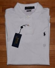 Polo Ralph Lauren Standard Fit Stretch Mesh Shirt M White New NWT Retail $98.50