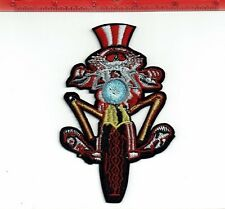 """5"""" Grateful Dead Electric uncle sam biker patch Iron on patches shakedown USA"""