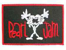 "Pearl Jam Embroidered Iron On Patch Badge 3.9""/9.8m"