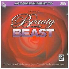 Songs of Beauty And The Beast  Accompaniment 2-CD Set  2007 by Alan Menken; Howa