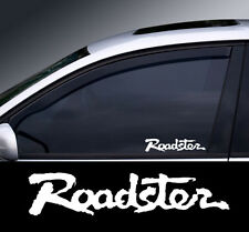 Roadster Logo Window Decal Sticker Graphic *Colour Choice*