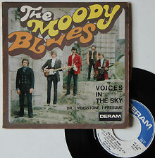 "Vinyle 45T The Moody Blues ""Voices in the sky"""