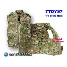 DID 1/6 E60055 Deluxe Access US Army_ Assault Vest _Multicam Uniform Now DDX75A