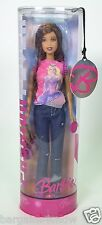 2006 FASHION FEVER BARBIE AFRICAN AMERICAN AA DISTRESSED JEANS PINK TOP NRFB