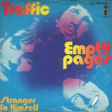 "7"" Traffic (Steve winwwod) - empty pages/Stranger to Himself // Germany 1970"