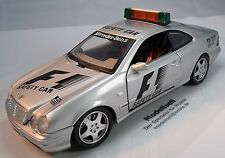 Mercedes Benz CLK amg Safety Car f1 de Anson en escala 1:18 maqueta de coche