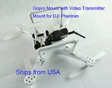 GoPro Anti Vibration Mount with Video Transmitter Mount for DJI Phantom 1 2 3