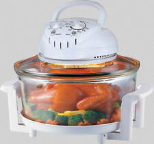 Countertop Hot Air Cooker Oyama 9.5 Quart Turbo Convection Oven with Rotisserie