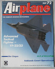 Airplane magazine Issue 72 Advanced Tactical Fighter YF-22/23 poster