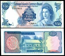 CAYMAN ISLANDS 50 Dollars 1987 - UNC  - Pick 10