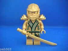 Lego Figurine Minifig Ninjago - Lloyd Golden Ninja Neuf New / Sets 70503 70505