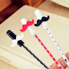 1Pc New Funny Moustache Stationery Ball Point Pen Gel Writeing Random Color Hot