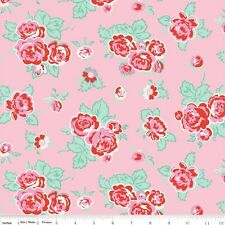 Milk Sugar & Flower ByThe Yard Penny Rose Cottage floral Riley Blake  SALE