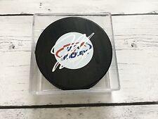 Jacob Trouba Signed Autographed Team USA U.S.A Hockey Puck b