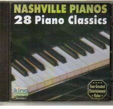 Nashville Pianos - 28 Piano Classics [New CD]