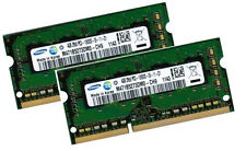 2x 4gb 8gb ddr3 DI RAM MEMORIA HP EliteBook 8440p 8540p