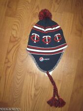 MINNESOTA TWINS NORDIC-STYLE YOUTH~KIDS KNIT STOCKING HAT~BEANIE~CAP~PEPSI~NWT